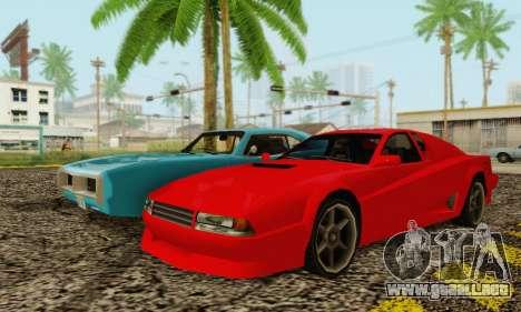 New Cheetah v1.0 para la visión correcta GTA San Andreas