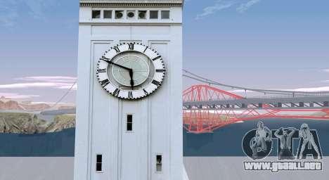 RoSA Project v1.5 San-Fierro para GTA San Andreas tercera pantalla