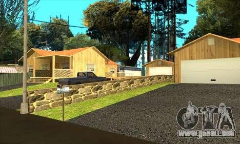Aldea nueva Gillemyr v1.0 para GTA San Andreas sucesivamente de pantalla