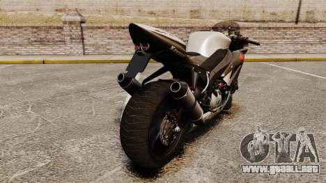 Kawasaki Ninja ZX-6R v2.0 para GTA 4 visión correcta