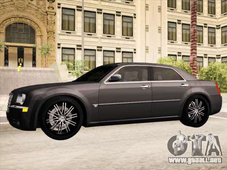 Chrysler 300C 2009 para GTA San Andreas interior