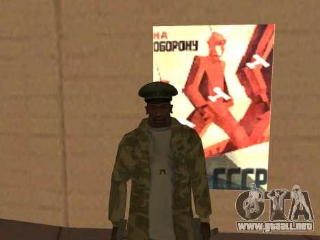 MOD para el día de la victoria para GTA San Andreas sucesivamente de pantalla