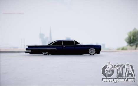Voodoo Low Car v.1 para GTA San Andreas vista posterior izquierda