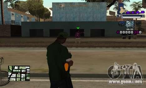C-HUD SWAG para GTA San Andreas segunda pantalla