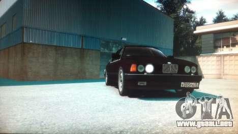 BMW 735iL E32 ver 2 para GTA 4 visión correcta