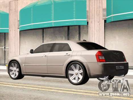 Chrysler 300C 2009 para visión interna GTA San Andreas