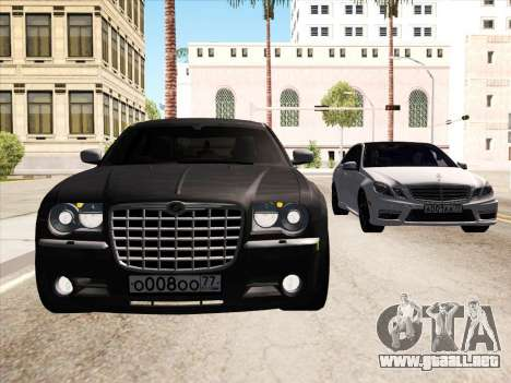 Chrysler 300C 2009 para la vista superior GTA San Andreas