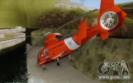 AS 365N Dauphin para la visión correcta GTA San Andreas