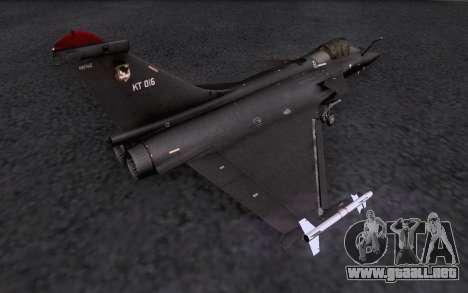 Dassault Rafale M para el motor de GTA San Andreas