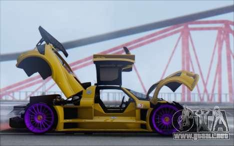 Gumpert Apollo S Autovista para visión interna GTA San Andreas
