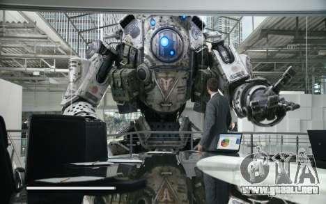 Arranque de las pantallas y menús de Titanfall para GTA San Andreas séptima pantalla