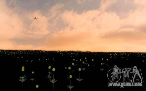 ENBSeries por el AVATAR 4.0 Final para los débil para GTA San Andreas tercera pantalla