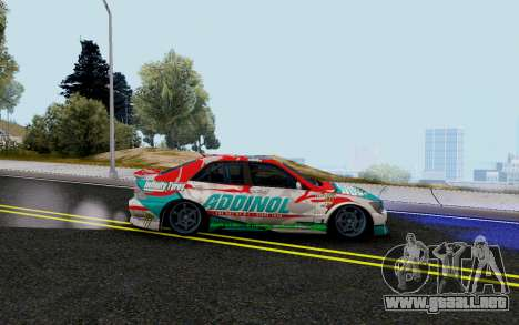 Toyota Altezza Addinol para GTA San Andreas left