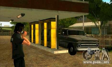 El renacimiento de la aldea de Montgomery para GTA San Andreas quinta pantalla