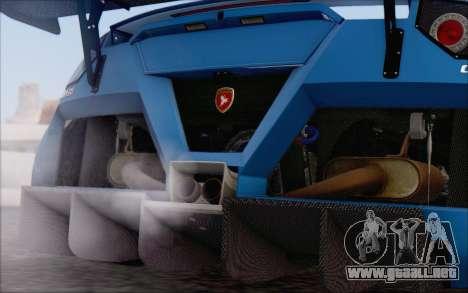 Gumpert Apollo S Autovista para vista inferior GTA San Andreas
