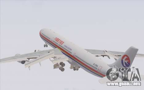 Airbus A340-300 China Eastern para el motor de GTA San Andreas