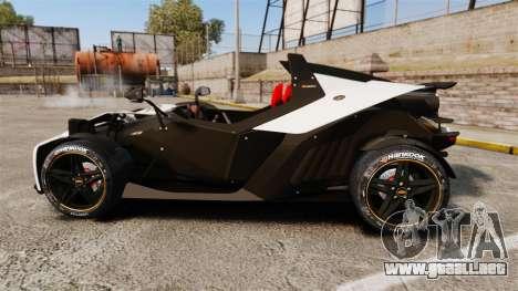 KTM X-Bow R para GTA 4 left