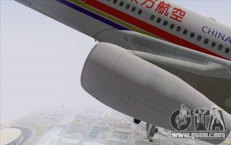 Airbus A340-300 China Eastern para la visión correcta GTA San Andreas