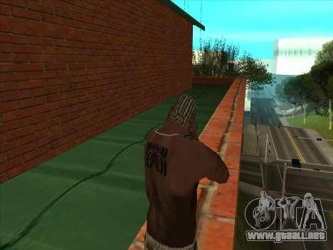 El nuevo depósito en San Piero para GTA San Andreas sucesivamente de pantalla