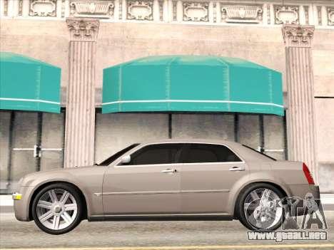 Chrysler 300C 2009 para GTA San Andreas vista hacia atrás