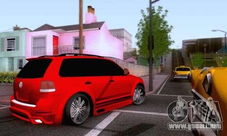 Volkswagen Touareg Mansory para visión interna GTA San Andreas