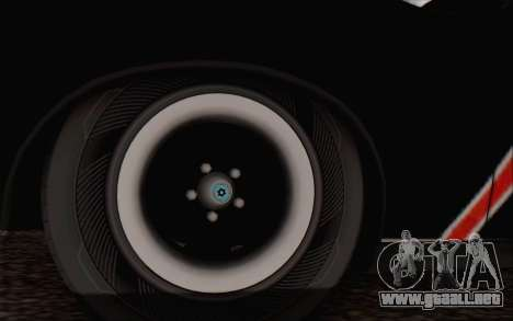 AMC Javelin para GTA San Andreas vista posterior izquierda