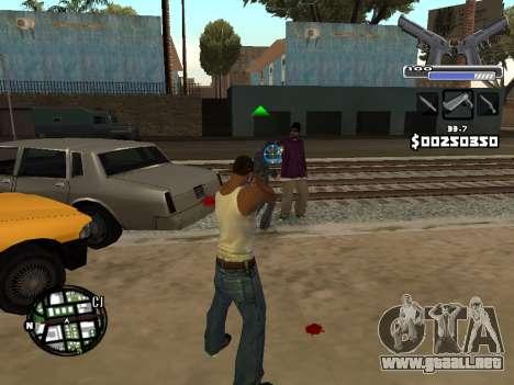C-HUD Deagle para GTA San Andreas sucesivamente de pantalla