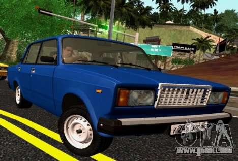 VAZ-2107 Riva para GTA San Andreas