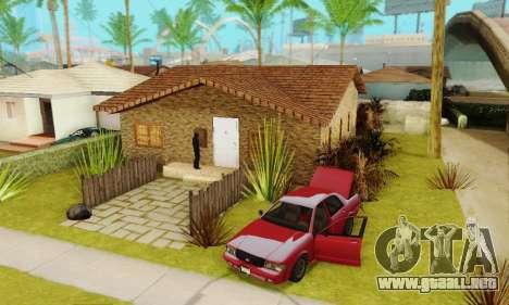 Nuevas texturas de la casa de Denis para GTA San Andreas