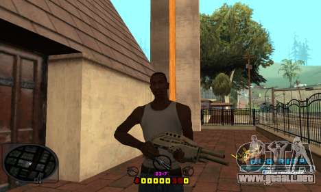 C-HUD Old-Rifa para GTA San Andreas tercera pantalla