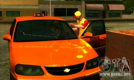 El renacimiento de la aldea de Montgomery para GTA San Andreas segunda pantalla