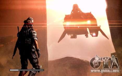 Arranque de las pantallas y menús de Titanfall para GTA San Andreas novena de pantalla
