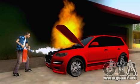 Volkswagen Touareg Mansory para la vista superior GTA San Andreas