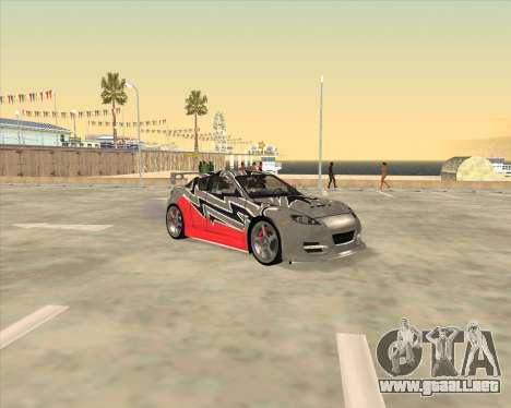 Mazda RX 8 из NFS most Wanted para GTA San Andreas
