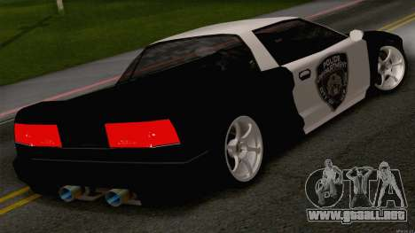 Infernus Police para GTA San Andreas left