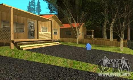 Aldea nueva Gillemyr v1.0 para GTA San Andreas tercera pantalla