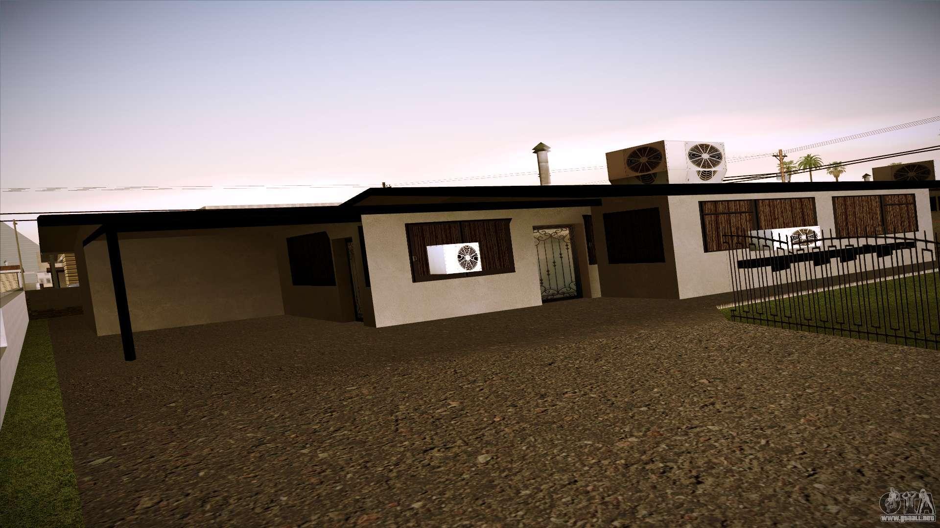 Casas nuevas en las venturas v1 0 para gta san andreas for Casa moderna gta sa