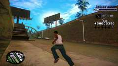 C-HUD Tawer Gitto para GTA San Andreas