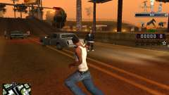 C-HUD Prostokvashino para GTA San Andreas