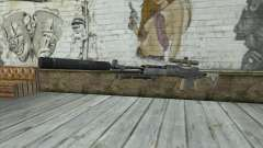 Rifle de francotirador из MW2 para GTA San Andreas