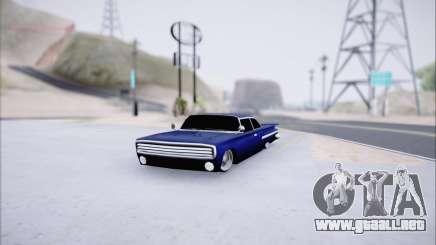 Voodoo Low Car v.1 para GTA San Andreas