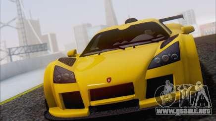Gumpert Apollo S Autovista para GTA San Andreas