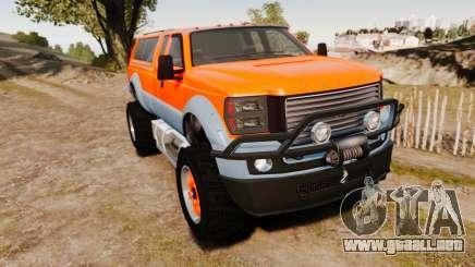 GTA V Vapid Sandking XL wheels v2 para GTA 4