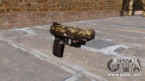 Pistola FN Five seveN LAM Hexagonal para GTA 4