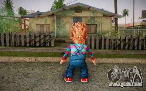 Chucky para GTA San Andreas segunda pantalla