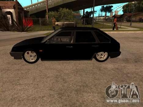 VAZ 2109 Bandit V 1.0 para visión interna GTA San Andreas