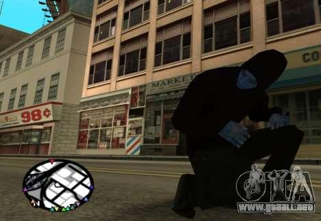 El poder de la nueva spider-man 2 para GTA San Andreas