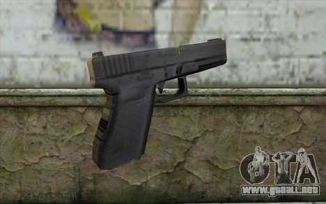 Manhunt Glock para GTA San Andreas segunda pantalla