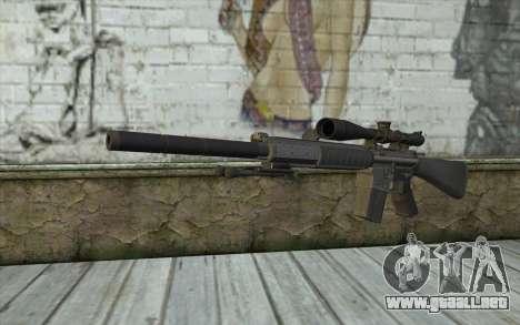 SC25 Sniper Rifle para GTA San Andreas