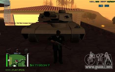 C-HUD by Bodie para GTA San Andreas tercera pantalla